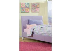 Fantasia Full Lavender Platform Bed