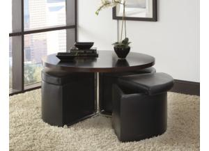Cosmo Occasional Table and Storage Stools